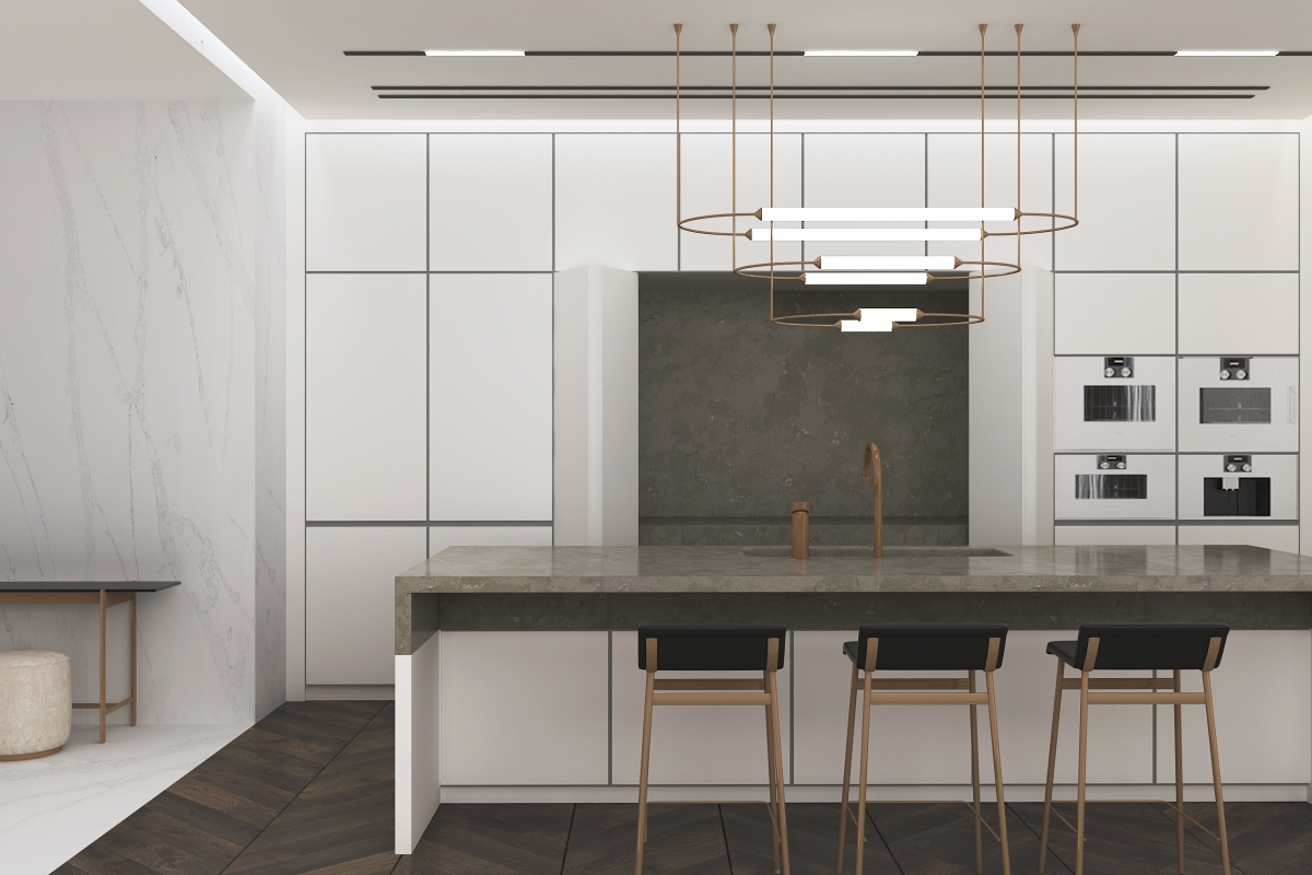 V9040 Clamshell Kitchen Tops