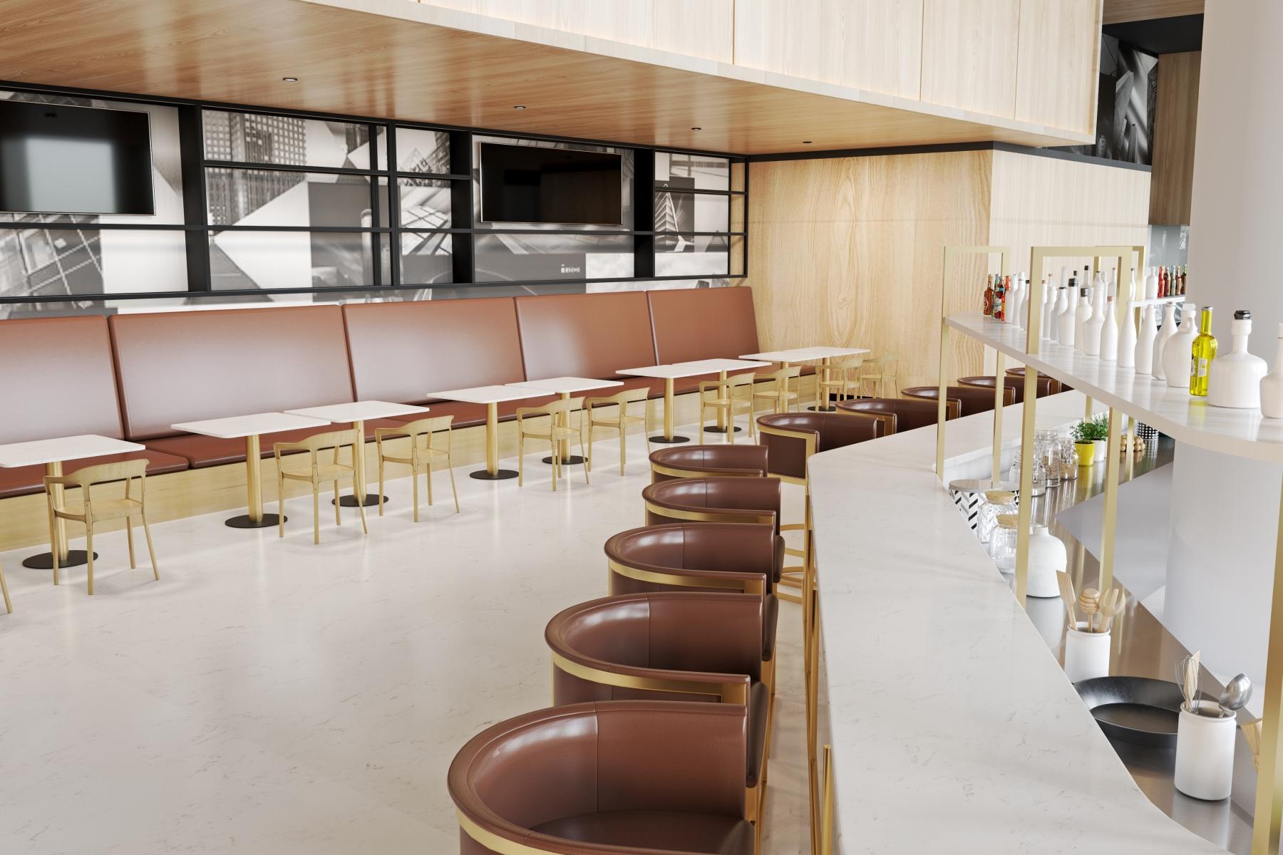 V1075 Restaurant Bar Tops